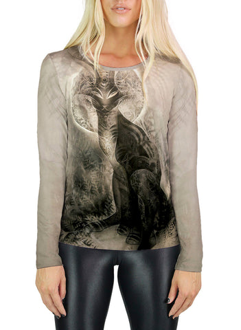 Black Rabbit of Inle Womens Long Sleeve