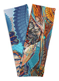 Tiger Swallow Tail Scarf