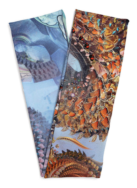Monarch Dragon Scarf