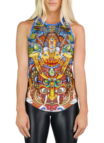 Guardian Of The Sky Portal Racerback Tank