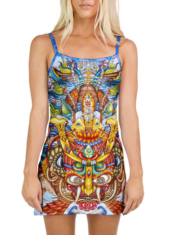 Guardian Of The Sky Portal Mini Dress
