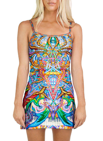 Biomimic Mini Dress