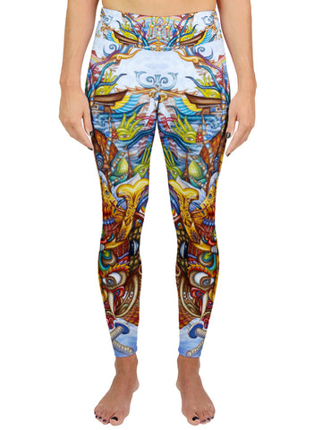 Guardian of the Sky Portal ACTIVE LEGGINGS