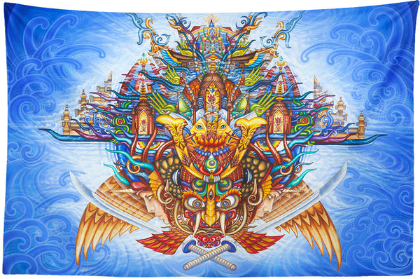 Guardian of the Sky Portal Tapestry