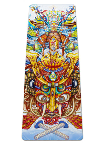Guardian Of The Sky Portal Yoga Mat