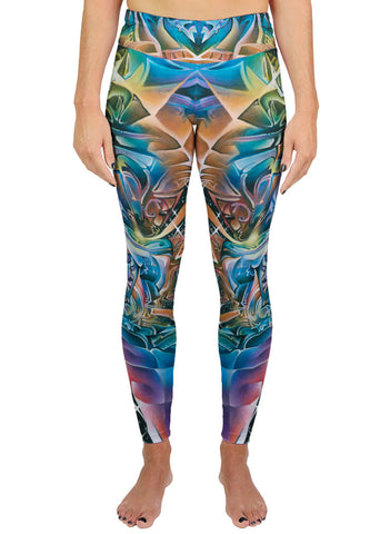 Star Petals Active Leggings