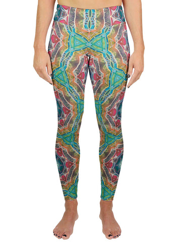 Call to Evolve Patterned Active Leggings