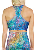 Dawn Of Transcendental Jubilance Racerback Crop