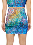 Dawn Of Transcendental Jubilance Mini Skirt