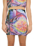 Universal Mind Mini Skirt
