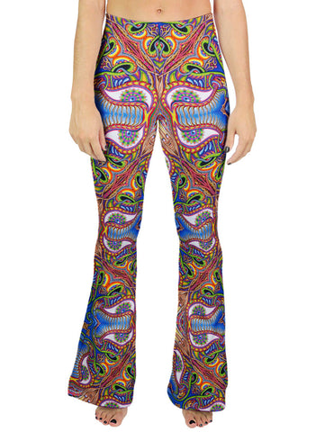 APOTHEOSIS OF DUALITREE PATTERN BELL LEGGINGS