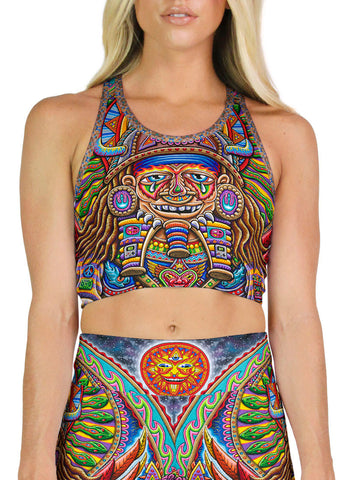 Ultimate Spirit Warrior Racerback Crop