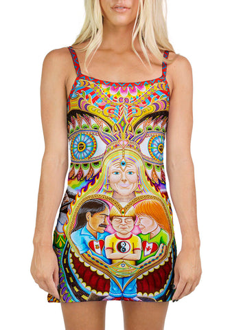 God Of Healing Mini Dress