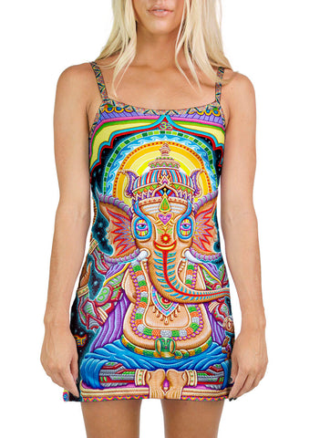 Jai Ganesha! Mini Dress