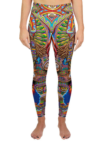 Ultimate Spirit Warrior Active Leggings