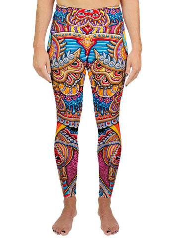 KUNDALINI RISING ACTIVE LEGGINGS