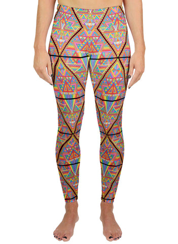 Dmt Pattern Active Leggings