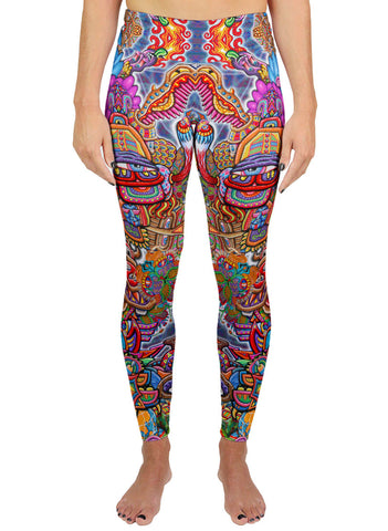 Interdimensional Rebel Active Leggings