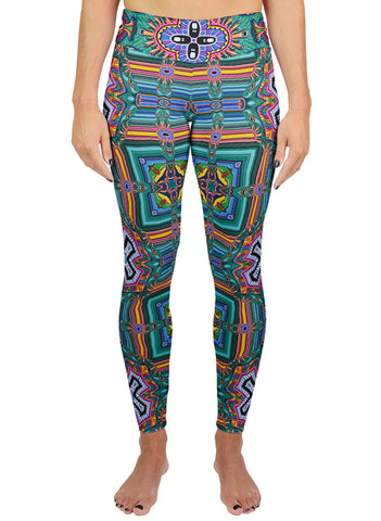 BRIBRIBRI PATTERN ACTIVE LEGGINGS