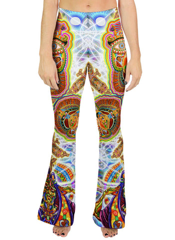 Healing Fractal Dimension Bell Leggings