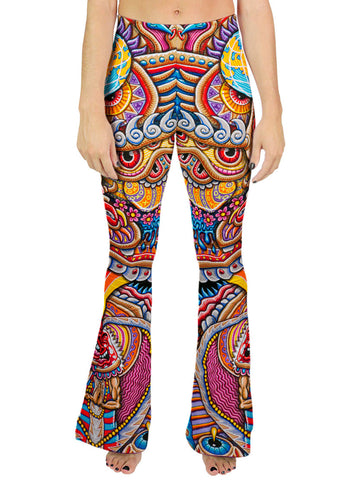 KUNDALINI RISING BELL LEGGINGS