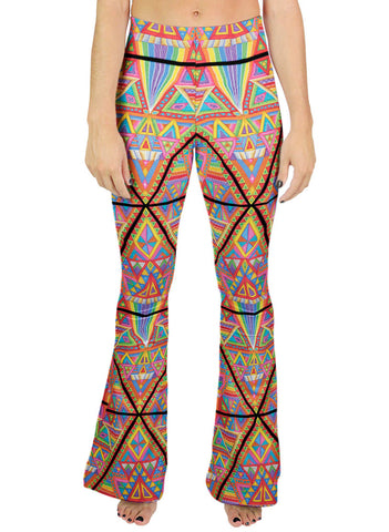 Dmt Pattern Bell Leggings
