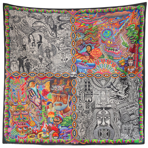 Chaos Culture Jam Tapestry