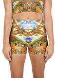Healing Fractal Dimension Active Shorts