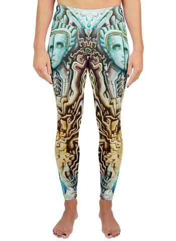 Temple Of Gnosis Active Leggings