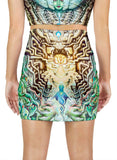 Temple Of Gnosis Mini Skirt