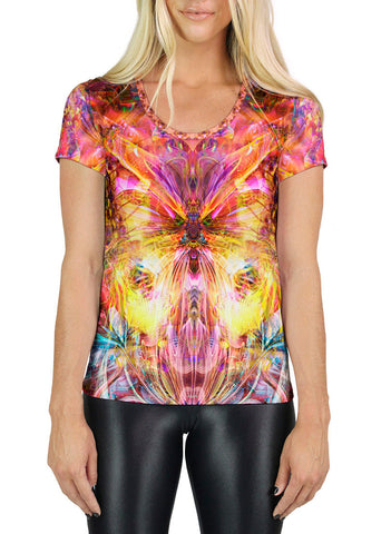 Mariposa Scoop Neck T-Shirt