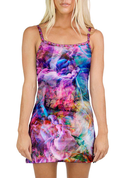 Psychedelic Circus Mini Dress