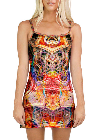 Birth Of A Scarab Mini Dress