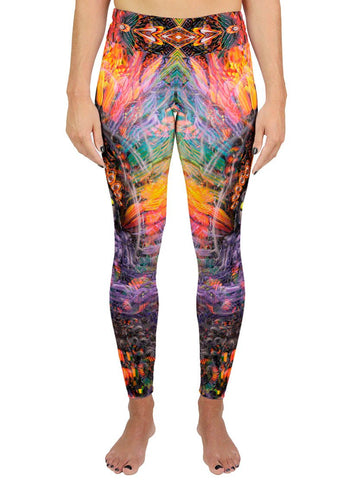 Isis / Ina May Remix Active Leggings