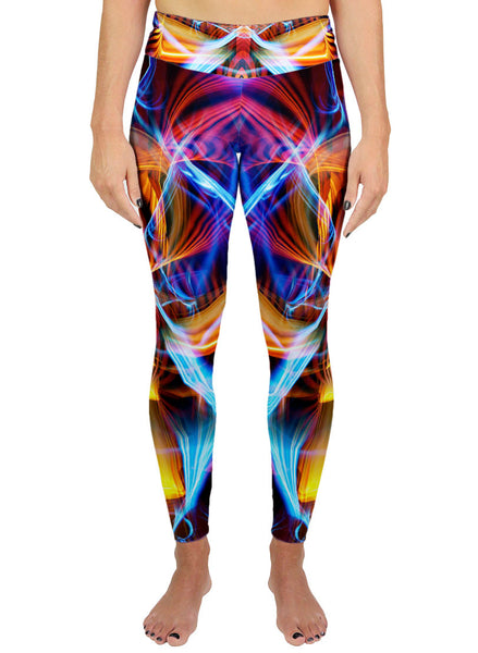Galactic Sphinx Active Leggings