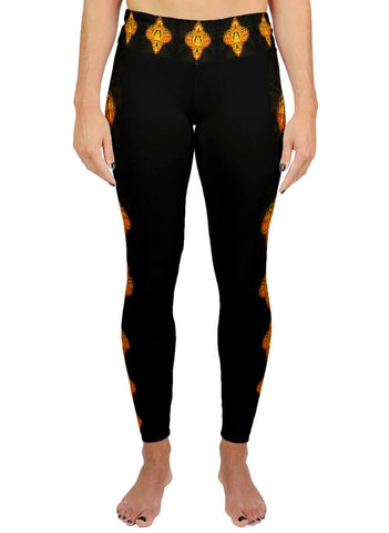 Golden Amulet Active Leggings