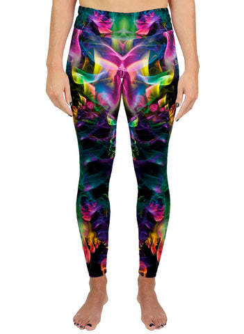 Rainbow Smoke Active Leggings