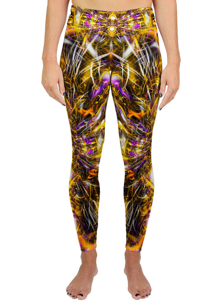 Diamonds and Thunderbolts Active Leggings