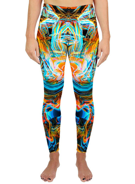 As Above So Below Active Leggings