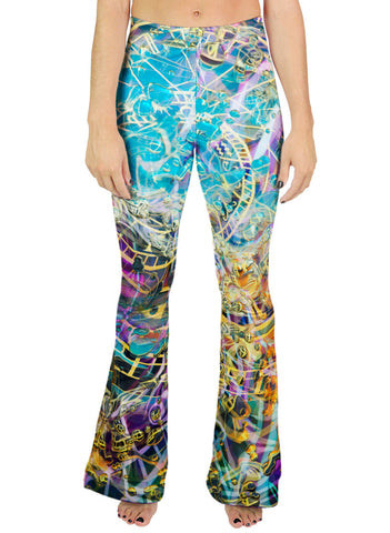 Time Melts Away Bell Leggings