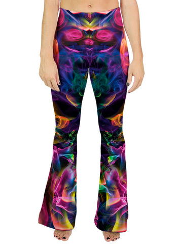 Rainbow Smoke Bell Leggings