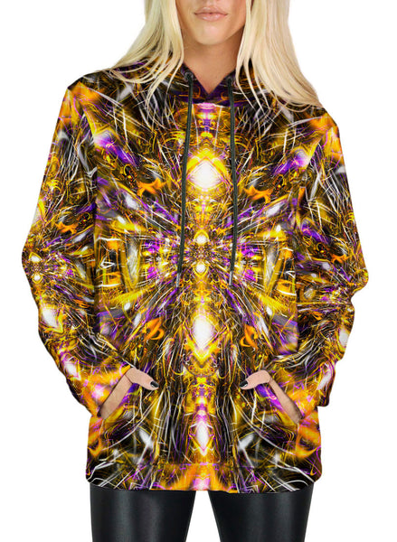 Diamonds And Thunderbolts Hoodie