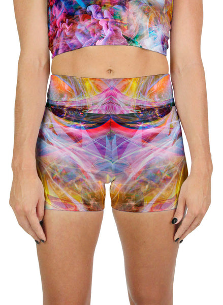 Psychedelic Circus Active Shorts
