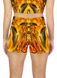Golden Amulet Active Shorts