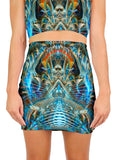 Mere Reflection Mini Skirt