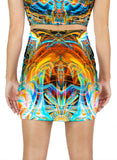 As Above So Below Mini Skirt
