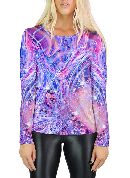 Cosmic Love Womens Long Sleeve