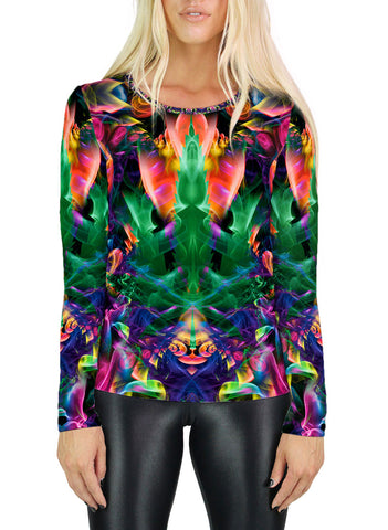 Gangelic Womens Long Sleeve