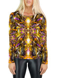 Diamonds and Thunderbolts Womens Long Sleeve