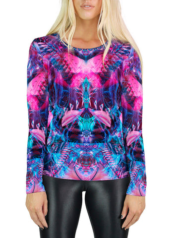 Creative Chaos Womens Long Sleeve